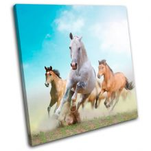 Horses in Dusk Animals - 13-0522(00B)-SG11-LO